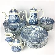 Sale 8739 - Lot 84 - The Hunter Tea/Coffee And Dinner Service By Myott