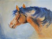 Sale 8964 - Lot 2071 - Greg Lipman (1938 - ) - Wild Warrior 76 x 102 cm (total: 76 x 102 x 4 cm)