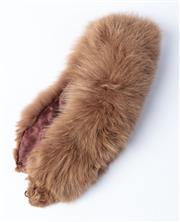 Sale 9003F - Lot 26 - A Vintage Arctic Fox Stole/Collar