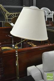 Sale 8390 - Lot 1602 - Pair of Brass Standard Lamps