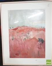 Sale 8413T - Lot 2086 - Artist Unknown, landscape, oil on paper, 71.5 x 54cm, unsigned