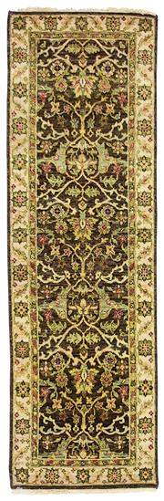 Sale 8536A - Lot 29 - An Agra Handspun Wool Runner India 239cm x 75cm	 RRP $900.00