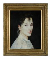 Sale 8620A - Lot 38 - European School, Possibly Italian - Portrait of a lady 53 x 42cm