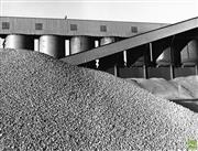 Sale 8721A - Lot 46 - Artist Unknown - Dolomite set for smelting at Temco, Bell Bay 1975 20 x 25cm
