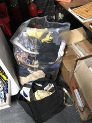 Sale 8819 - Lot 2402 - 2 Bags of Ladies Bags, Clothes etc