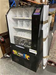 Sale 8912 - Lot 1009 - Vintage Vending Machine (key in office)