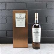 Sale 8970 - Lot 624 - 1x The Macallan Fine Oak 25YO Highland Single Malt Scotch Whisky - 700ml in box