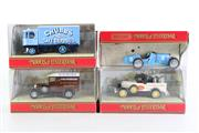 Sale 8960T - Lot 37 - A Set Of Four Matchbox Models of Yesteryear Toy Cars Incl Milk Truck