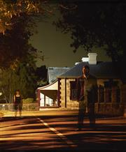 Sale 9084 - Lot 528 - Darren Siwes (1968 - ) - Australopthicus , 2004 118 x 98 (frame: 124 x104 cm