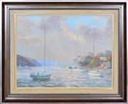 Sale 8349A - Lot 43 - Otto Kuster (1941 - ) - Sydney, Dolans Bay, Port Hacking, 1986 44 x 59cm
