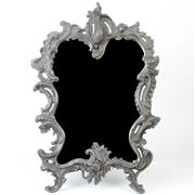 Sale 8399A - Lot 26 - Ornate Bronze Framed Mirror
