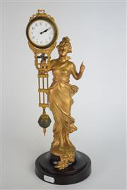 Sale 8396 - Lot 96 - Lady Mystery Clock