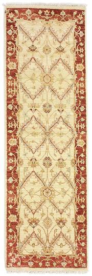 Sale 8536A - Lot 30 - A Chobi Handspun Wool Runner India 157cm x 51cm RRP $399.00