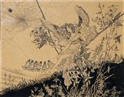 Sale 8704 - Lot 550 - Ida Rentoul Outhwaite (1888 - 1960) - The Web, 1909 24 x 30.5cm