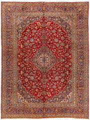 Sale 8770C - Lot 13 - A Persian Kashan From Isfahan Region 100% Wool Pile On Cotton Foundation, 397 x 300cm