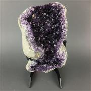 Sale 8638 - Lot 612 - Amethyst on Stand, Brazil