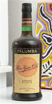 Sale 9066H - Lot 163 - A bottle of Yalumba Port