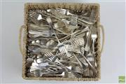Sale 8490 - Lot 220 - Large Quantity of Hotel quality knives and forks