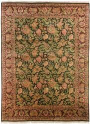 Sale 8536A - Lot 32 - An Ornate Handspun Wool Carpet India 420cm x 310cm RRP $8,000.00