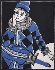 Sale 8686 - Lot 2014 - Dawn Bailey - Harlequin, woodcut, ed.1/25, 31 x 24.5cm, signed lower right