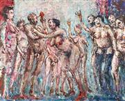 Sale 9013 - Lot 575 - Vic OConnor (1918 - 2010) - Nateleys Girl, 1988 44 x 54 cm (frame: 62 x 72 x 4 cm)