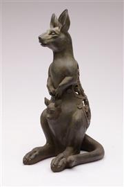 Sale 9049 - Lot 34 - Composite Form Kangaroo H: 35cm