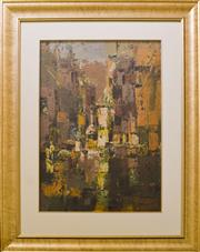 Sale 9080J - Lot 45 - Reinis Zusters - City 86x61cm
