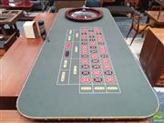 Sale 8451 - Lot 1062 - Casino Quality Roulette Wheel with Full-Size Table & Accessories -