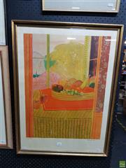 Sale 8613 - Lot 2081 - Gacia-Fous - Still life, screenprint, ed. 85/175, 78 x 57.5cm, signed lower right