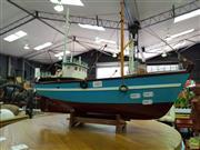 Sale 8629 - Lot 1083 - Model Fishing Boat