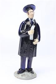 Sale 8694 - Lot 71 - Bohemia Glass Professor Figurine