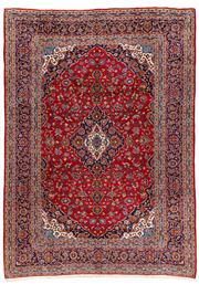 Sale 8770C - Lot 7 - A Persian Kashan From Isfahan Region 100% Wool Pile On Cotton Foundation, 293 x 408cm
