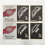 Sale 8893M - Lot 31 - An Assortment of Allocation Signage from AC\DC The Razors Edge Tour and Metallica Roam Tour