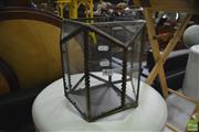 Sale 8390 - Lot 1438 - Glass Lantern