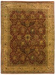 Sale 8536A - Lot 34 - A Fine Persian Design Nagri Handspun Wool Carpet India 377cm x 280cm $8,500.00