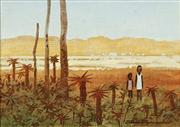 Sale 8732A - Lot 5021 - James Thomson (1937 - ) (2 works) - Gulf Country, North Queensland 11.5 x 16.5cm, each