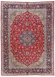 Sale 8770C - Lot 15 - A Persian Najafabad From Isfahan Region 100% Wool Pile On Cotton Foundation, 397 x 293cm
