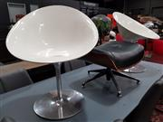 Sale 8777 - Lot 1037 - Pair of Kartell Tub Chairs