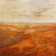 Sale 8867 - Lot 524 - Neville Pilven - The Cottage 121 x 120.5cm