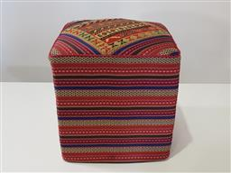 Sale 9191 - Lot 1074 - Hand knotted pure wool Persian stool (h:42 w:40 d:40cm)