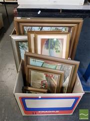Sale 8548 - Lot 2092 - Collection of 7 Framed Paintings incl Stannard