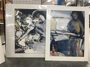 Sale 8730 - Lot 2092 - Group of (3) Original Paintings by Val Landa (mounted/unframed)