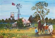 Sale 8856 - Lot 2062 - Artist Unknown - Farm Yard Scene 44.5 x 60cm