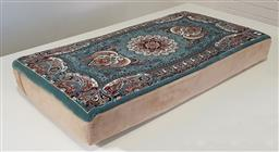 Sale 9191 - Lot 1002 - Hand knotted pure wool Persian pillow (h:13 w:98 d:51cm)