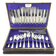 Sale 8292 - Lot 86 - English Hallmarked Sterling Silver George VI Cutlery for Six Persons
