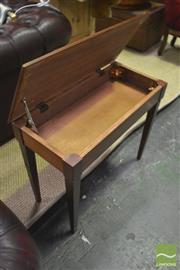 Sale 8310 - Lot 1642 - Timber Piano Stool