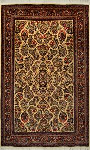 Sale 8418C - Lot 46 - Persian Tabriz 210cm x 130cm