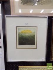 Sale 8483 - Lot 2009 - Jorg Schmeisser (1942 - 2012) - Ayres Rock, 1978 14.5 x 14.5cm (frame size: 41 x 36cm)