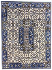 Sale 8536A - Lot 36 - A Moroccan Tile Design Handspun Wool & Natural Silk Carpet India 327cm x 242cm RRP $6,475.00
