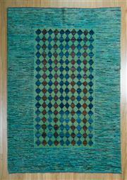 Sale 8657C - Lot 98 - Afghan Chobi Stripe 192cm x 131cm